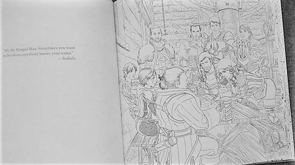 Dragon Age Coloring Book - Hangedman