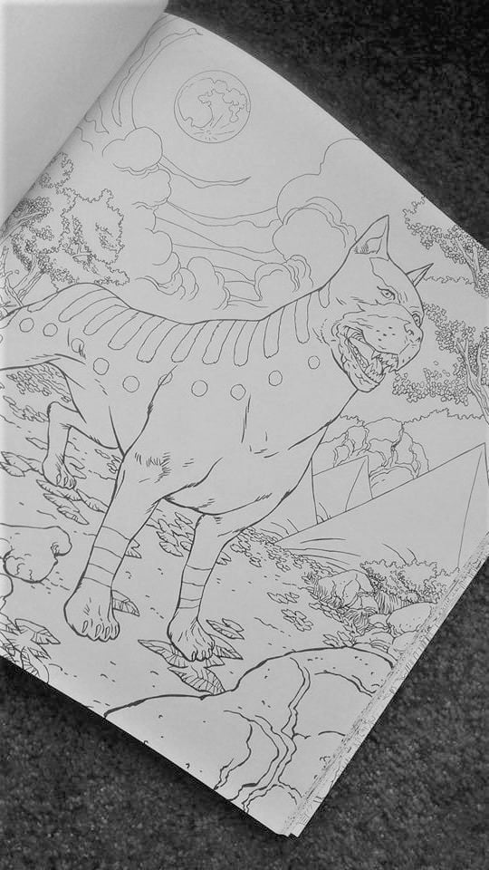 Dragon Age Coloring Book - Mabari