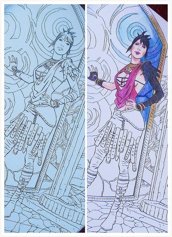 Dragon Age Coloring Book - Morrigan