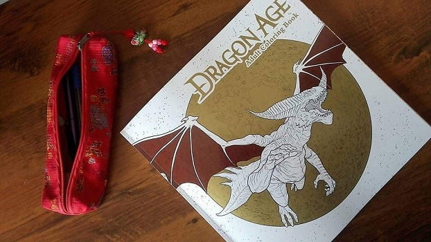 Dragon Age Coloring Book - okładka