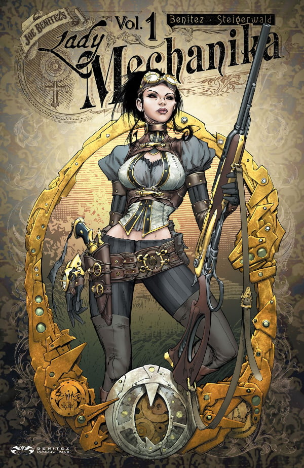 Lady Mechanika 1 cover