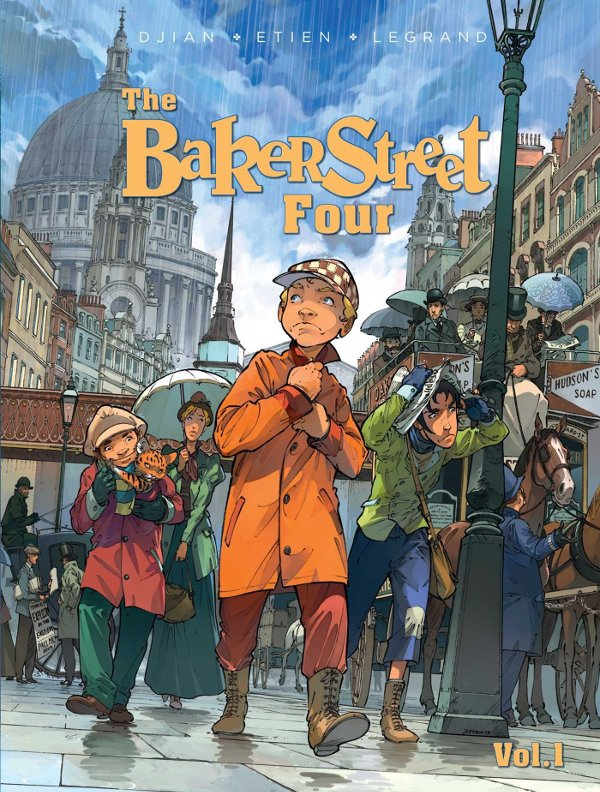 The Baker Street Four Volume 1 cover