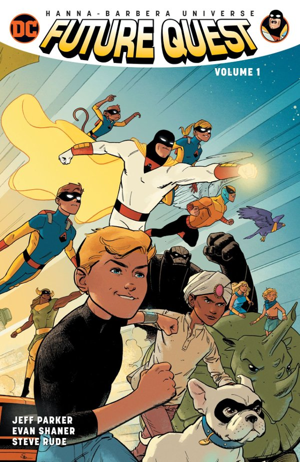 Future Quest Volume 1 cover