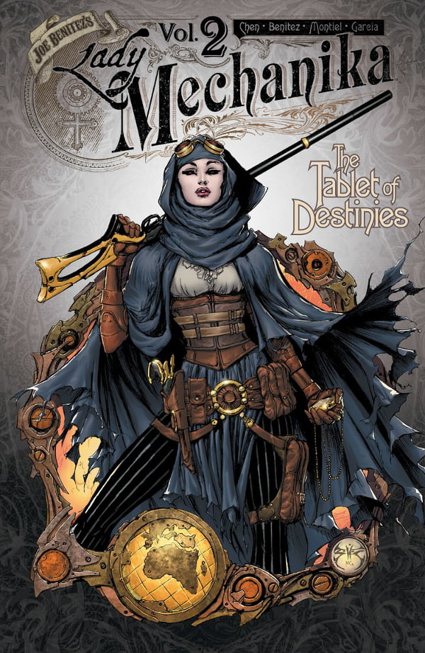 Lady Mechanika tom 2 cover