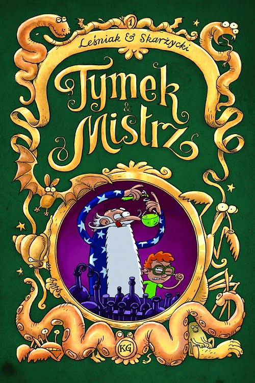 Tymek i Mistrz 1 cover
