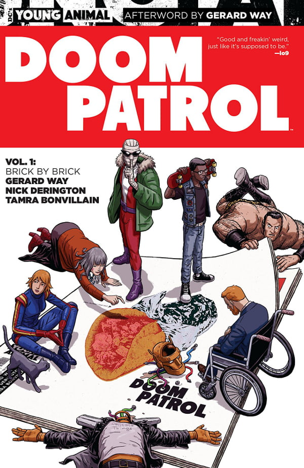 doom patrol cover