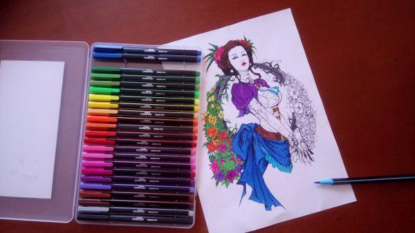 Lady Mechanika Coloring Book