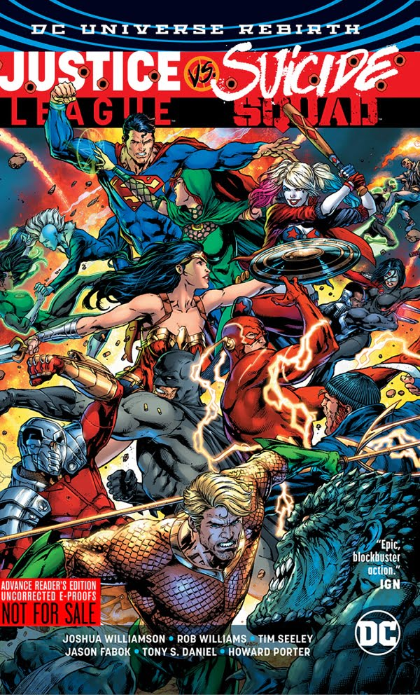 Justice League vs Suicide Squad 1