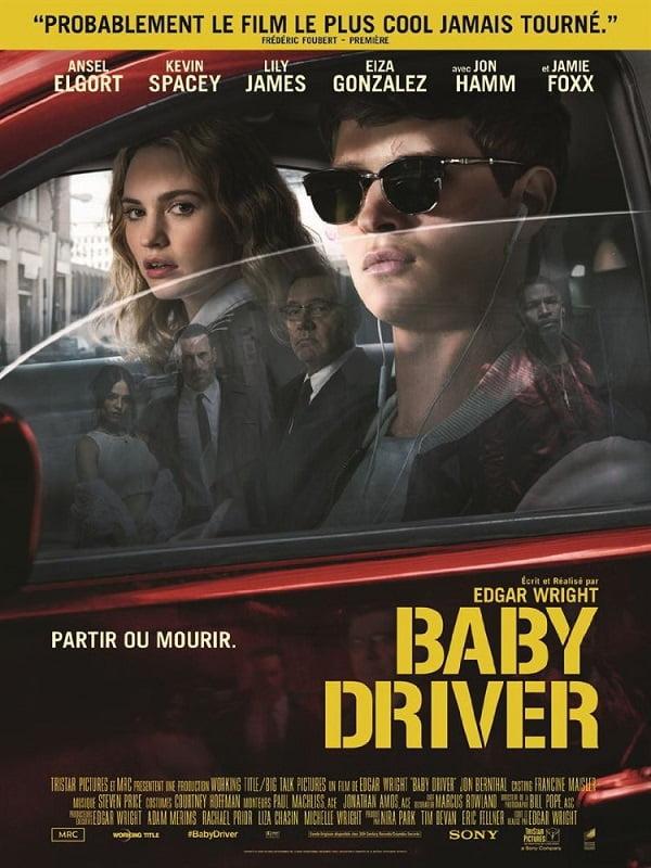 Baby Driver poster francuski