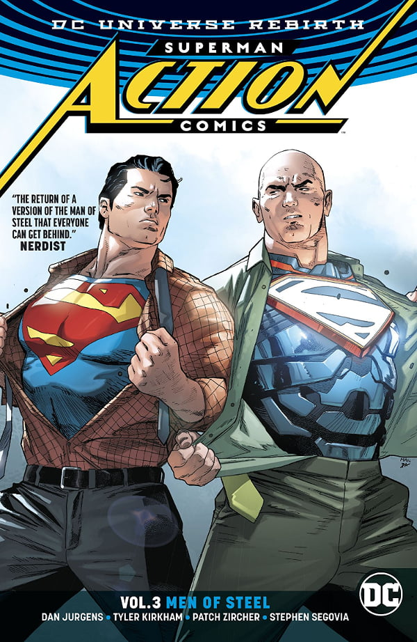 Superman Action Comics 3 cover