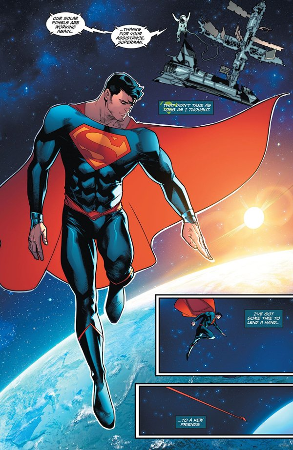 Superman Trials of The Super Son 001