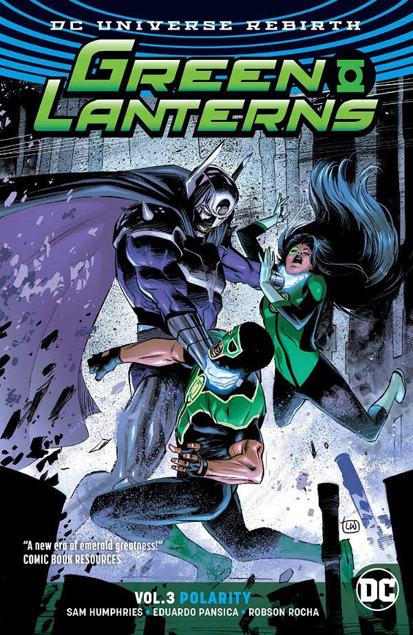 Green Lanterns Polarity cover