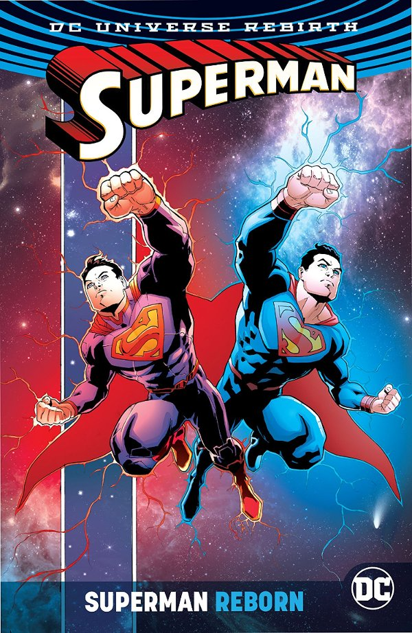 Superman Reborn cover