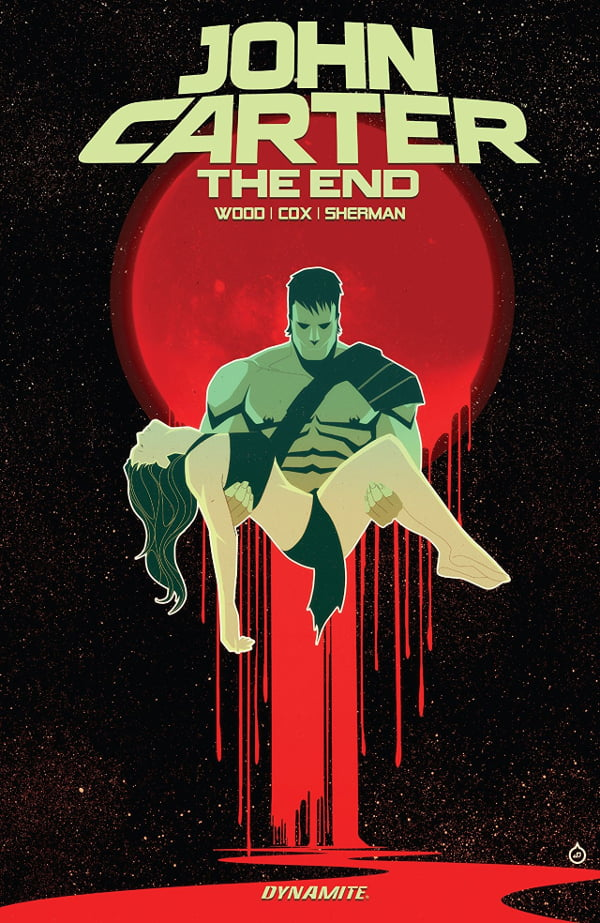 John Carter: The End cover