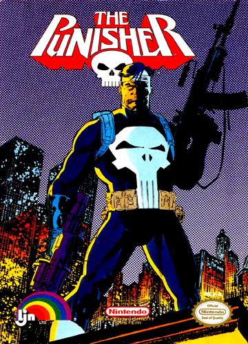 Punisher NES 1990