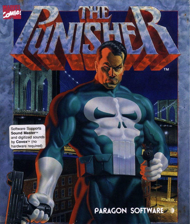 Punisher Amiga 1990