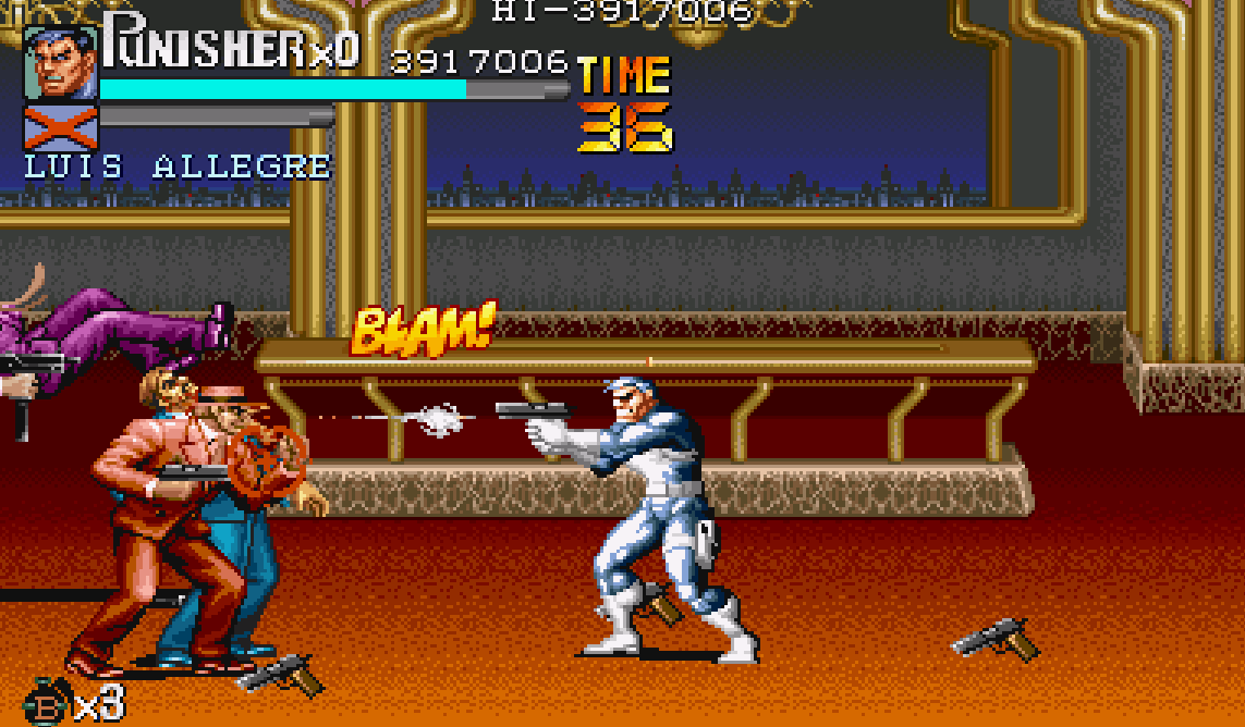 Punisher Arcade 1993