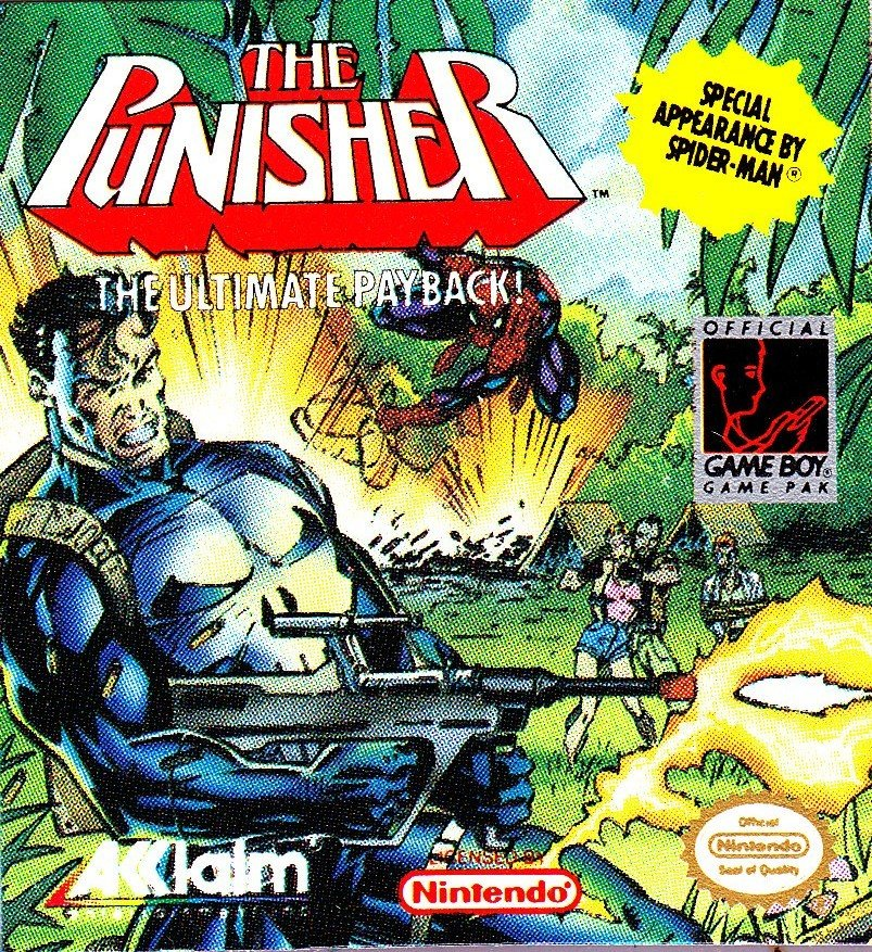 Punisher GameBoy 1991