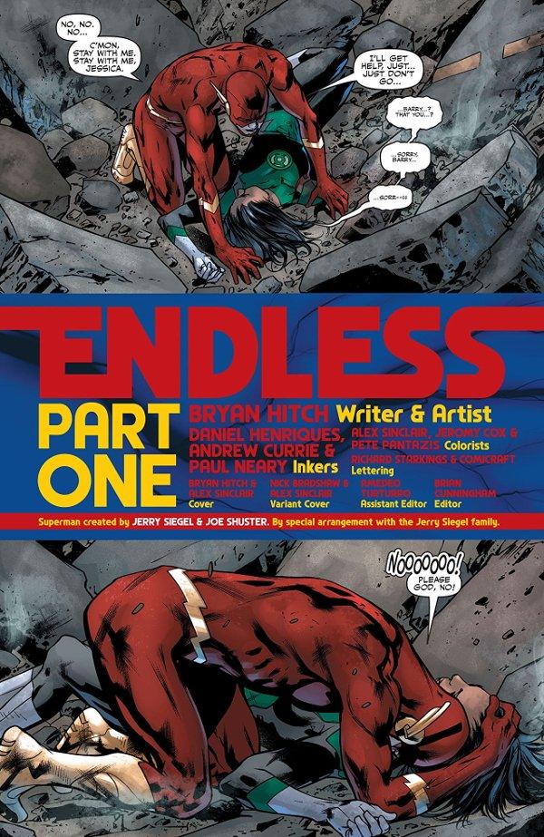 Justice League Endless 001