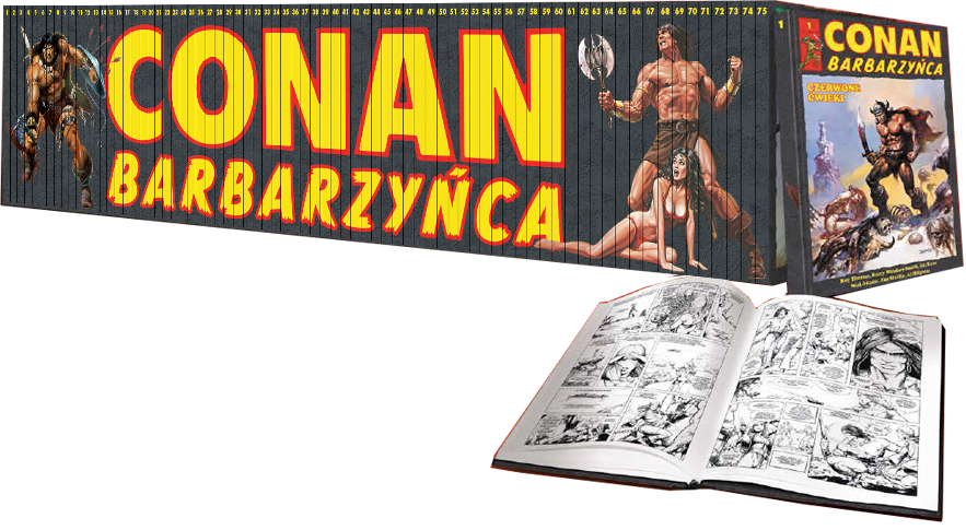 Kolekcja Komiksów Conan Barbarzyńca