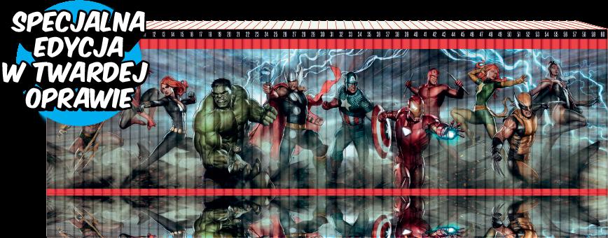 Kolekcja Superbohaterowie Marvela