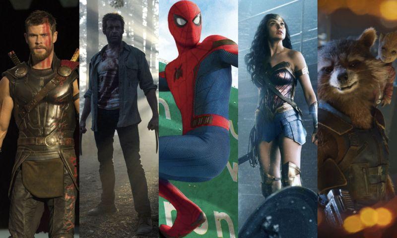 Ranking filmów superbohaterskich 2017