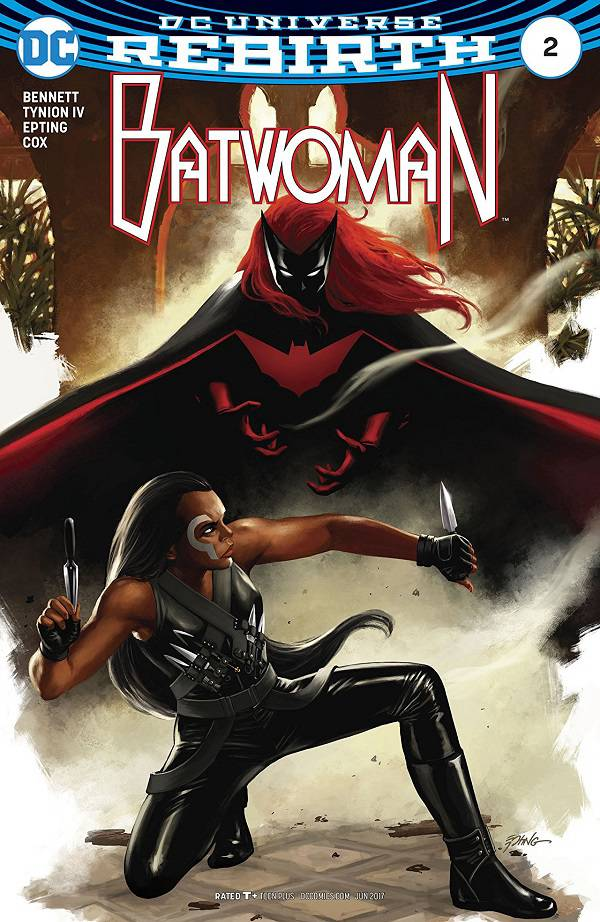Batwoman #2 cover