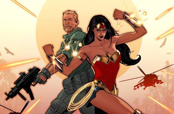 Wonder Woman i Steve Trevor