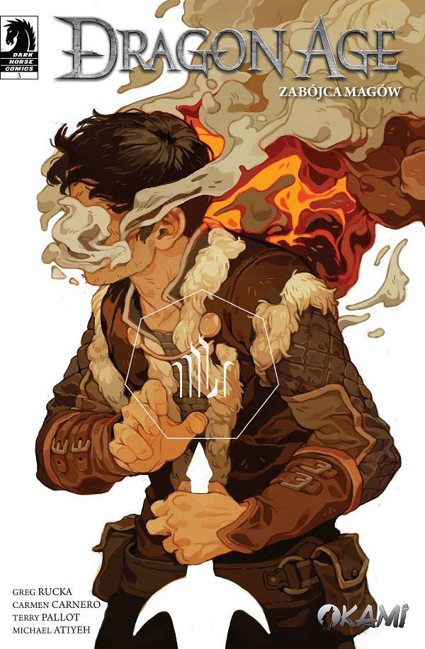 Dragon Age: Zabójca magów #3 okładka