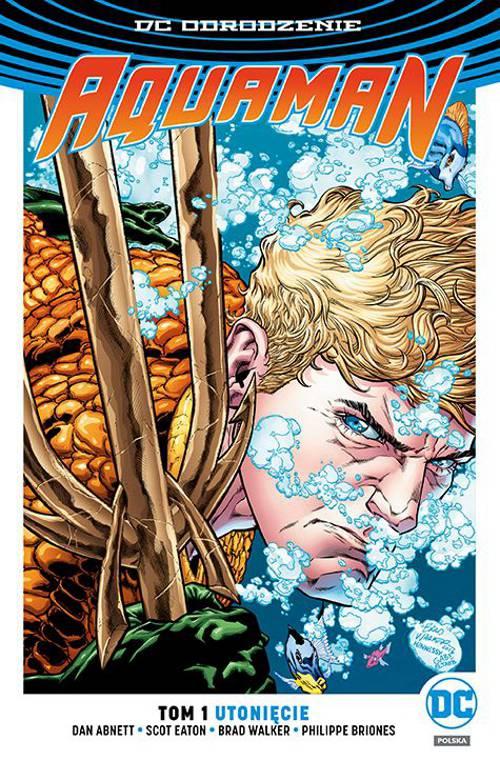Aquaman Utonięcie Cover