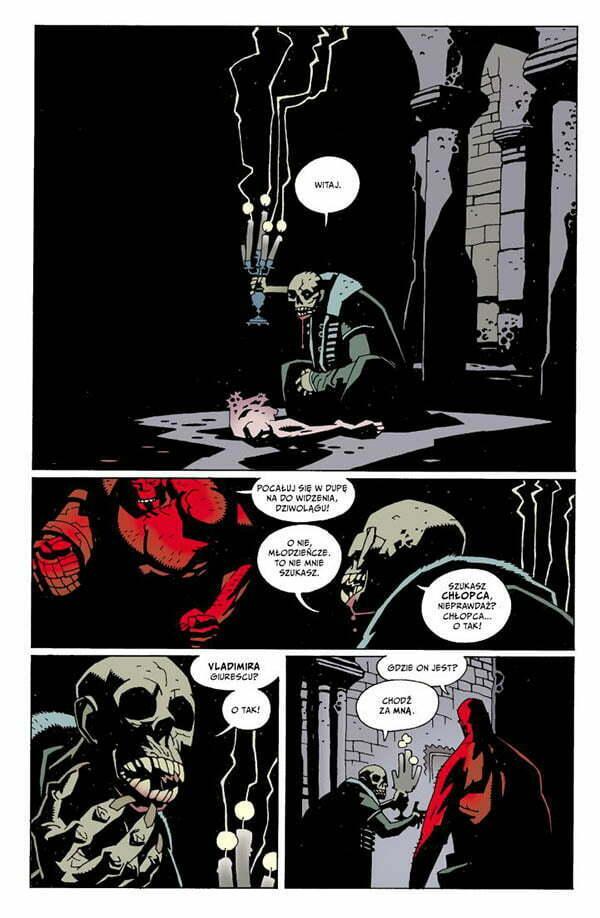 Hellboy Skan 1