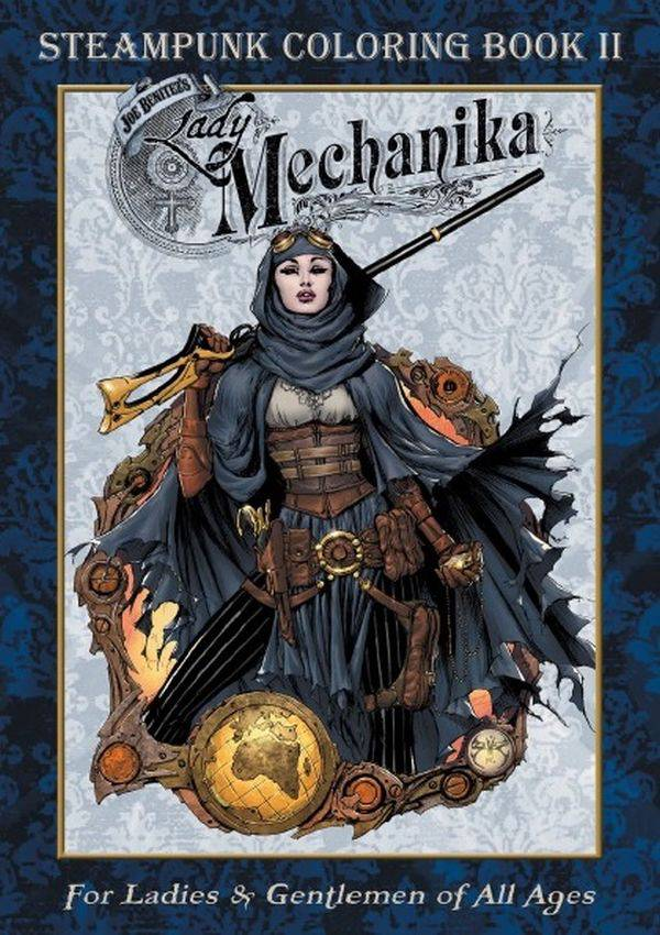 Lady Mechanika Steampunk Coloring Book Volume 2