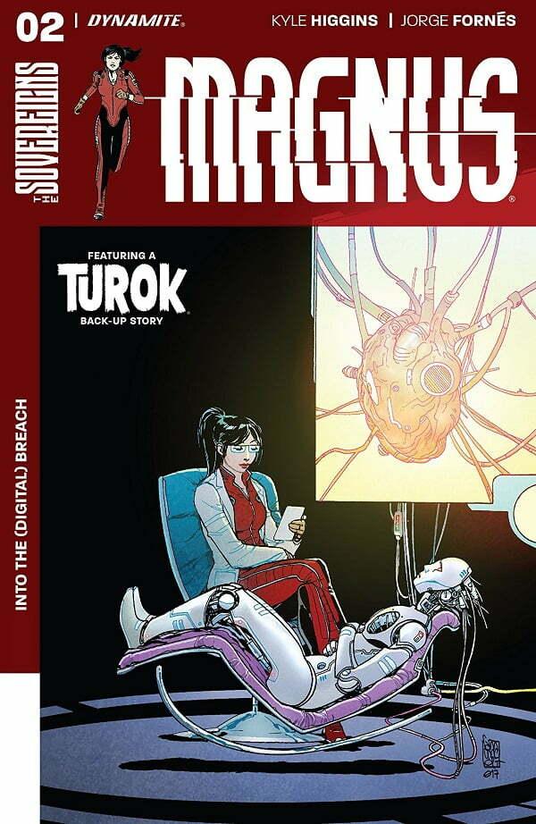 Magnus #2 cover
