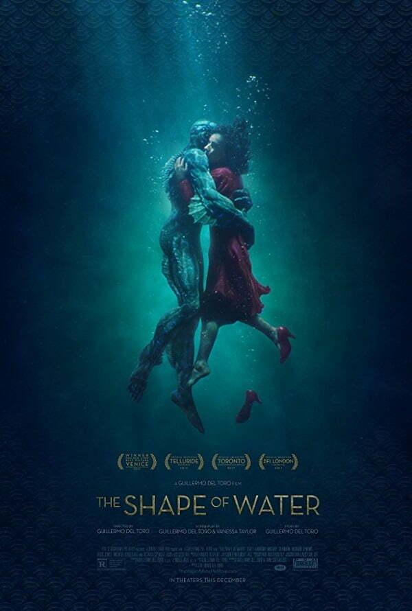 Kształt wody poster