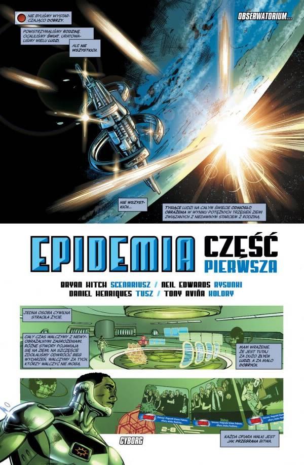 Liga Sprawiedliwości Epidemia 002