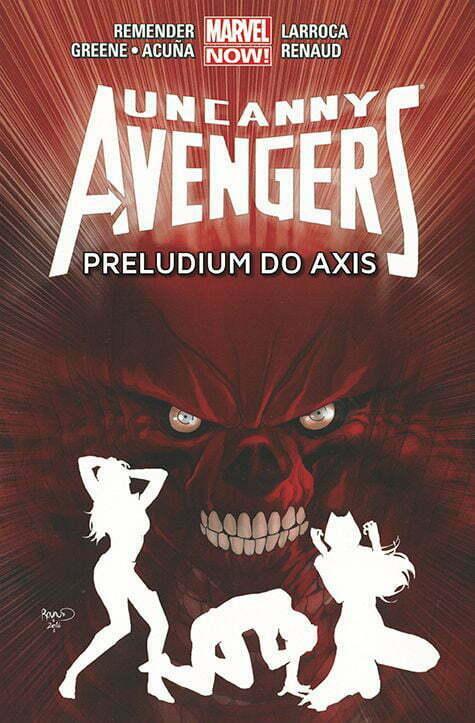 Uncanny Avengers 5 Okładka