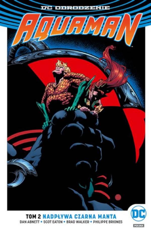 Aquaman Nadpływa Czarna Manta Cover