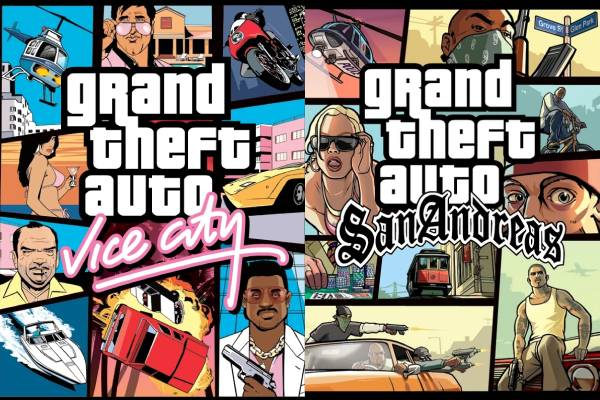 GTA: Vice City i GTA: San Andreas