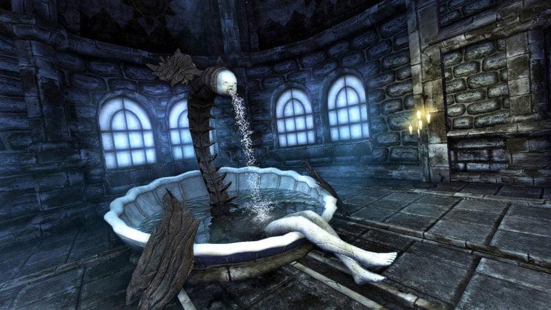 Screenshot z gry Amnesia: Mroczny Obłęd