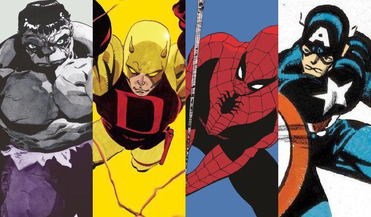 Tetralogia kolorów Marvela
