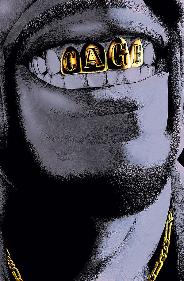 Cage Okładka