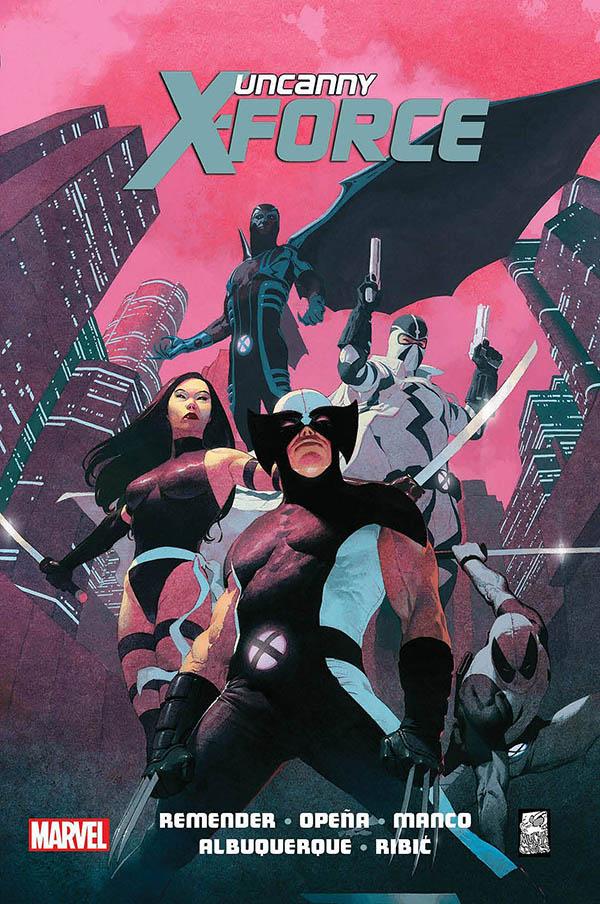 Uncanny X-Force 1 Okładka