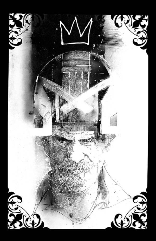 Carlos Ezquerra w wykonaniu Billa Sienkiewicza