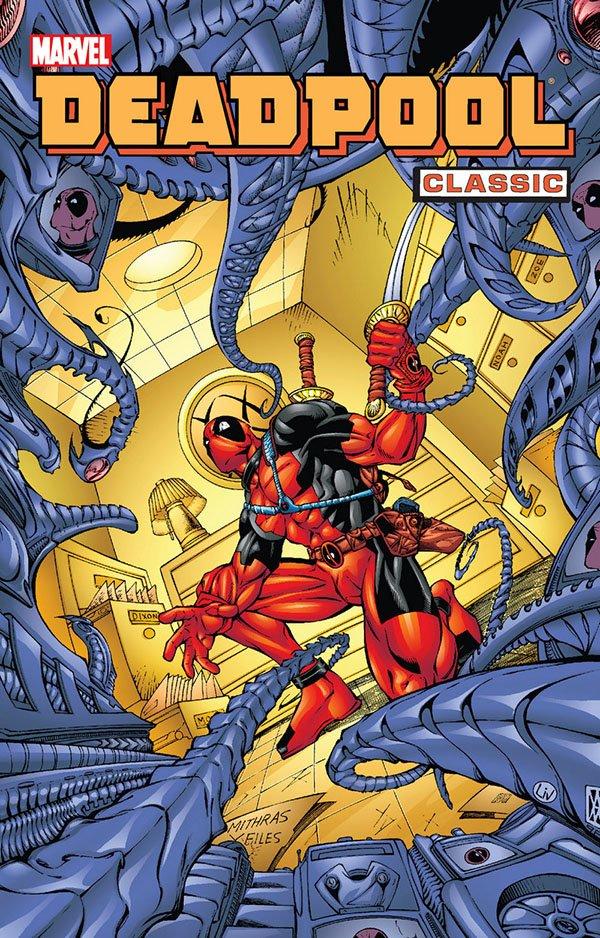 Deadpool 4 Okładka