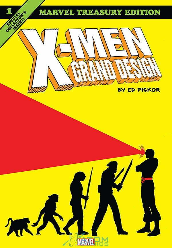 X-Men Grand Design Okładka