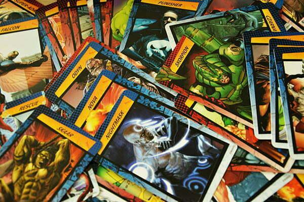 Cardline: Marvel – karty