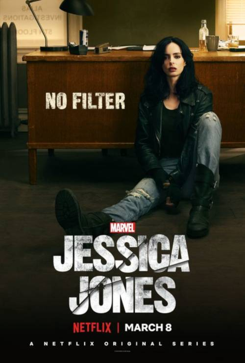 Top 10 female poculture heroes jessica Jones