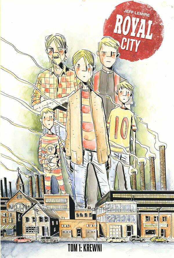 Royal City 1 Okładka