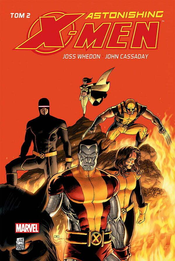 Astonishing X-Men 2 Okładka