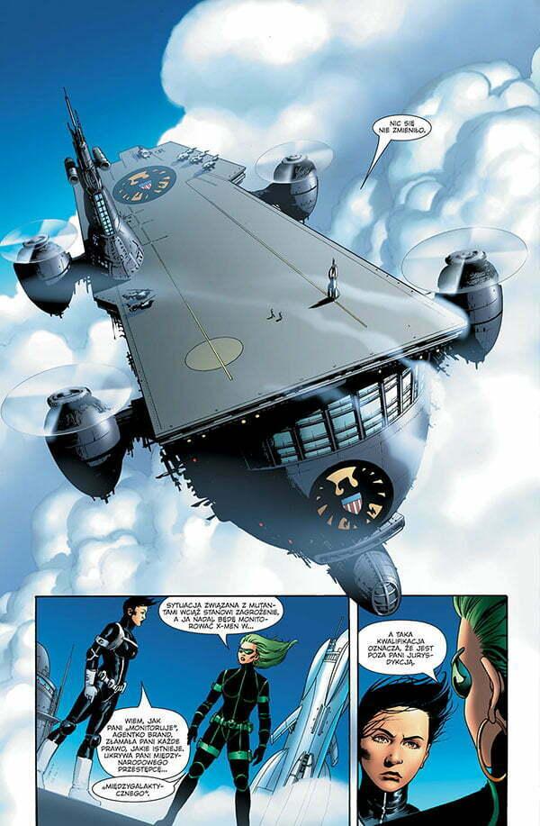 Astonishing X-Men 2 Strona przykładowa